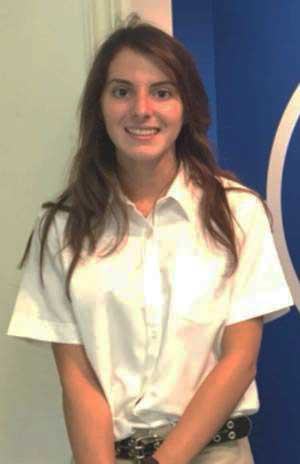 Amanda Lyons is a National Merit semifinalist.