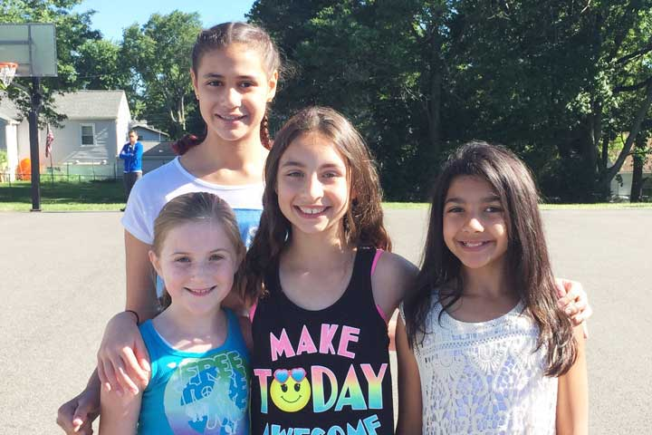 girl scouts troop 6229 fights hunger parsippany focus