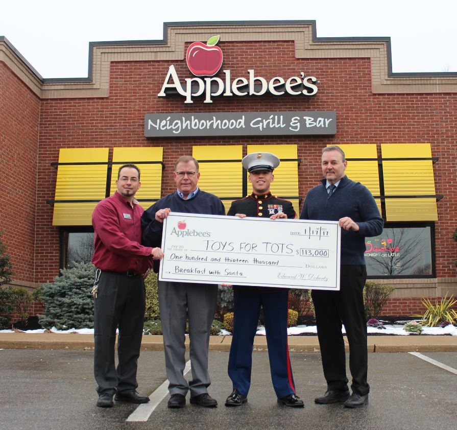 Applebee's Raises Over $113,000 for USMC's Toys for Tots ...