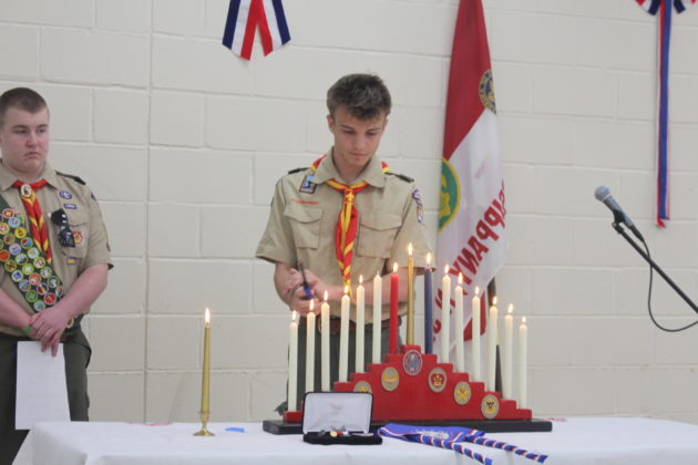 South Oath Candle Ceremony
