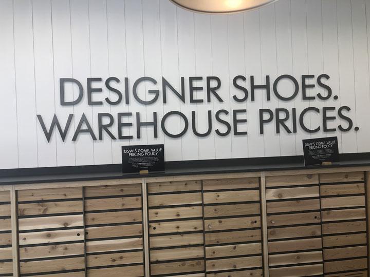 Designer Shoe Warehouse (DSW) is